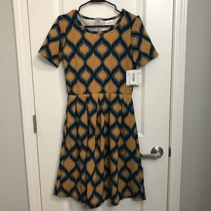 Lularoe Amelia Dress Size Medium